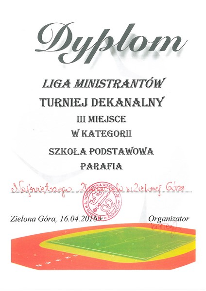 Liga Ministrantów 5 Medium
